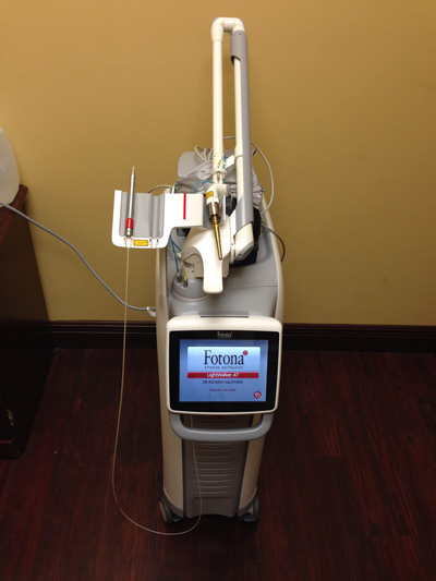 periodontal laser machine